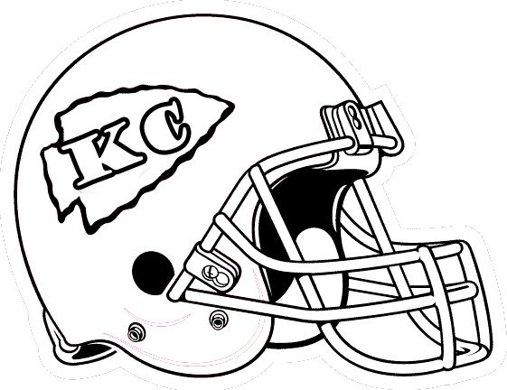 561x432 Football Helmet Coloring Pages Coloring Pages Chiefs