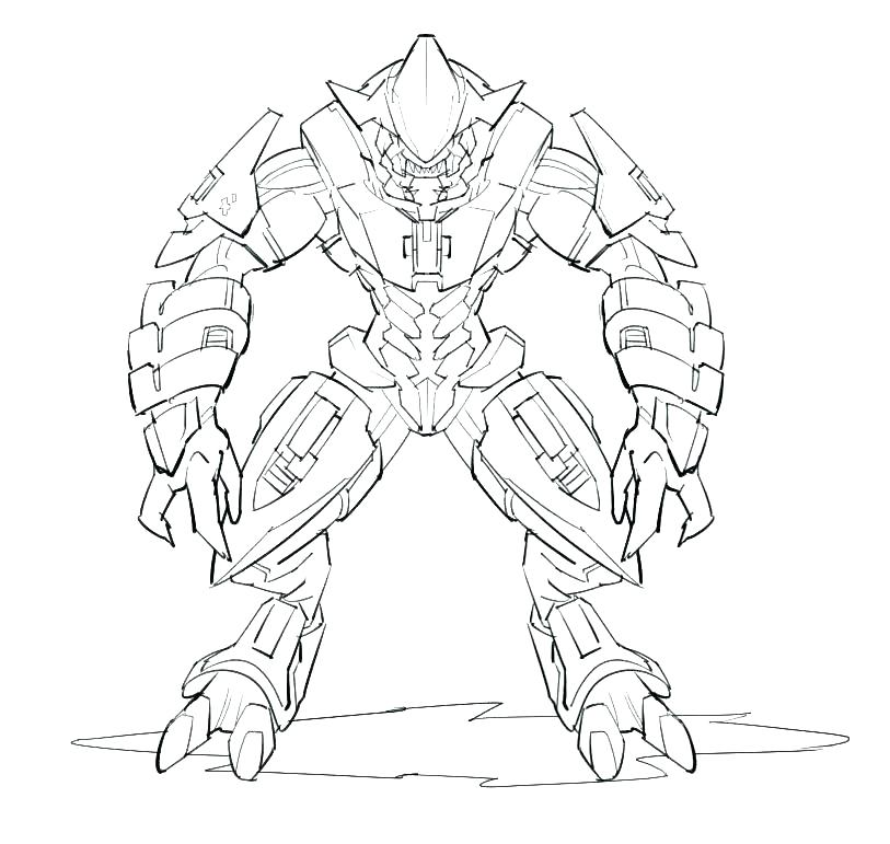 813x771 Halo Coloring Pages Master Chief Coloring Pages Halo Coloring Book