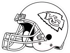 236x181 Kc Football Helmet Coloring Pages