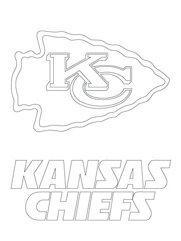 360x480 Arrowhead Coloring Pages City Chiefs Logo Coloring Page Indian