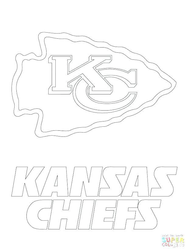 618x824 Kansas City Chiefs Coloring Pages Helmet Football Saints New