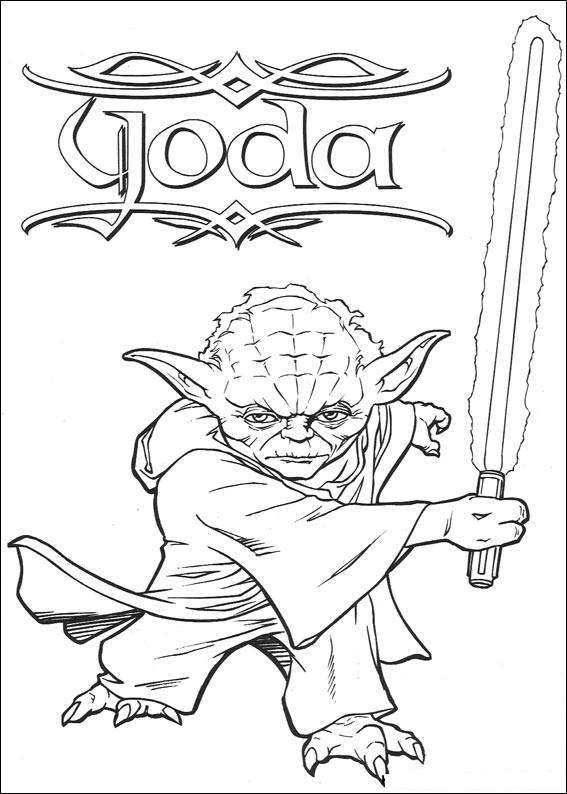 567x794 Star Wars The Clone Wars Coloring Pages Online