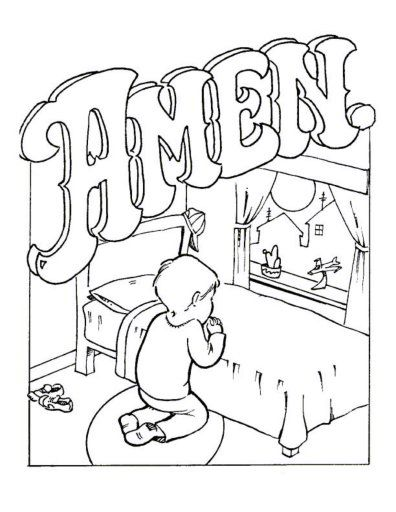 396x512 Best Free Printable Lord's Prayer Coloring Pages Images