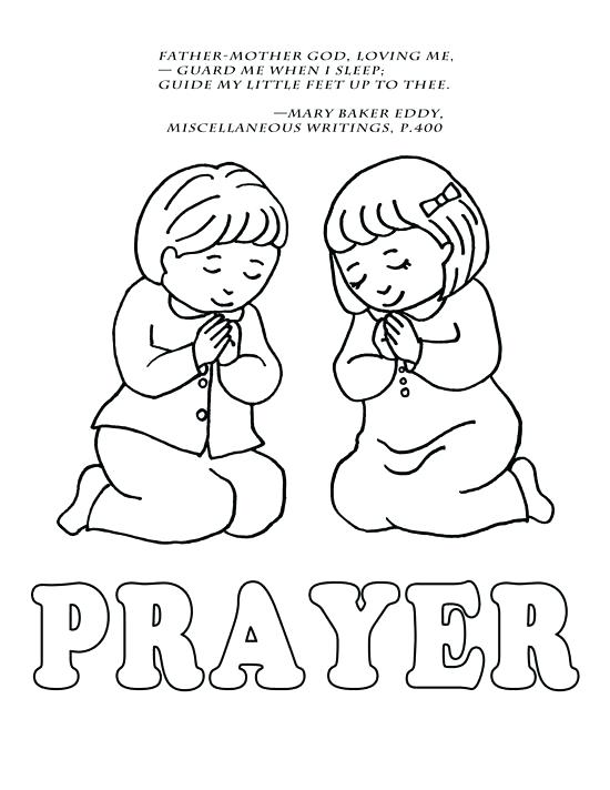 550x712 Children Praying Coloring Page Lds Prayer Coloring Page Best