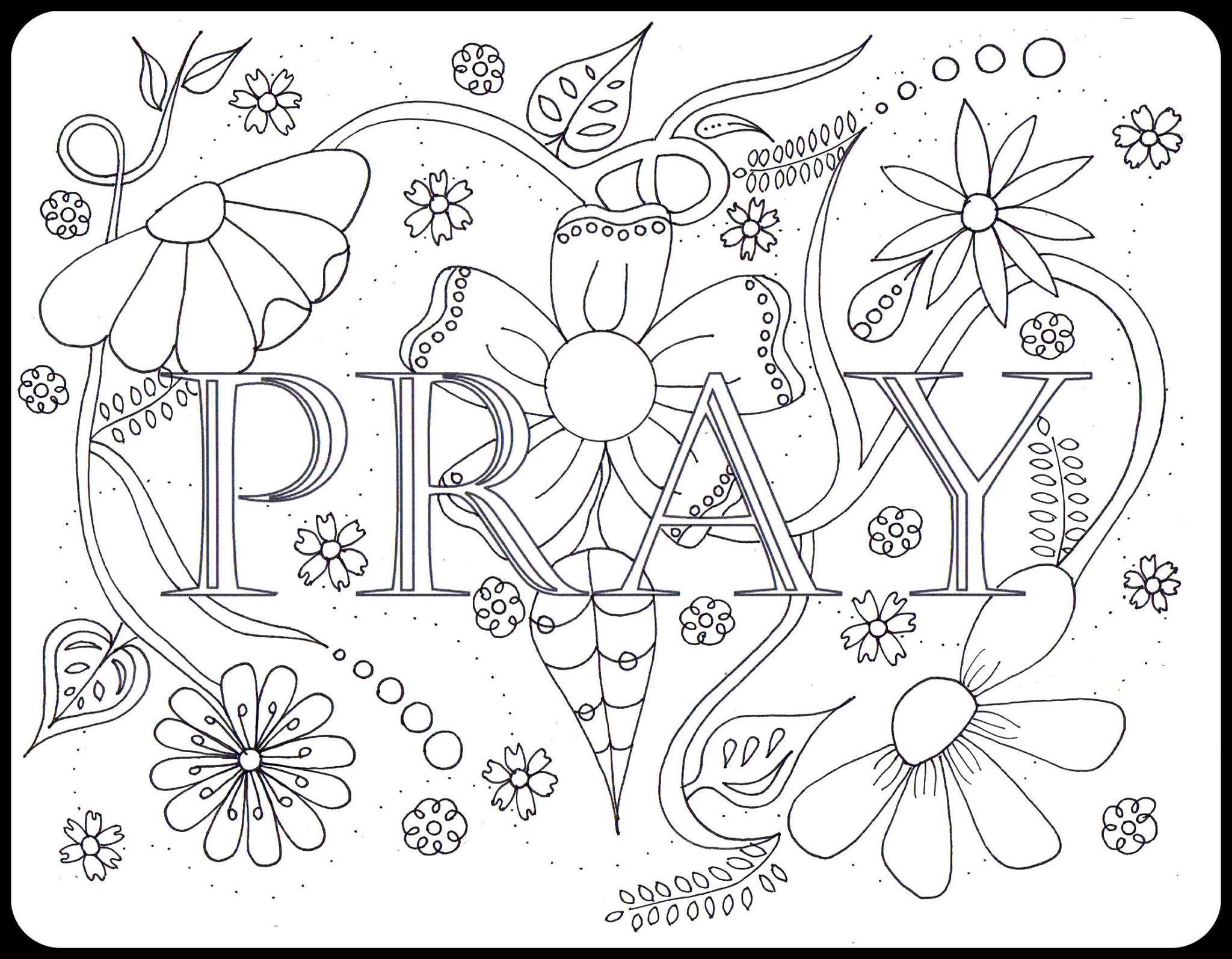 2048x1595 Prayer Coloring Pages Alluring Children Praying Coloring Page