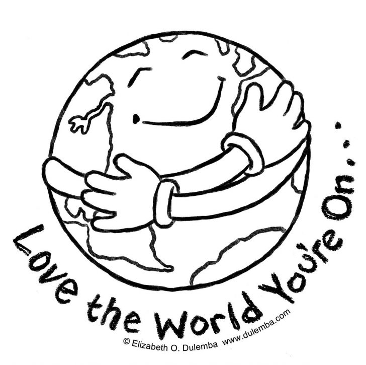728x725 Children Around The World Coloring Pages