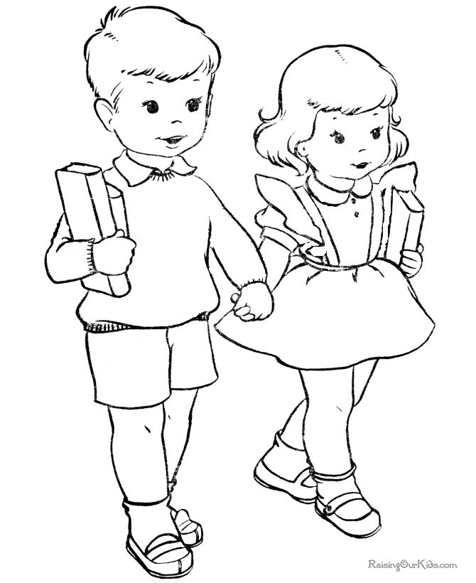 670x820 Colouring Pictures Of Children Color Bros