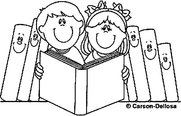 622x400 Colouring Pages School Children