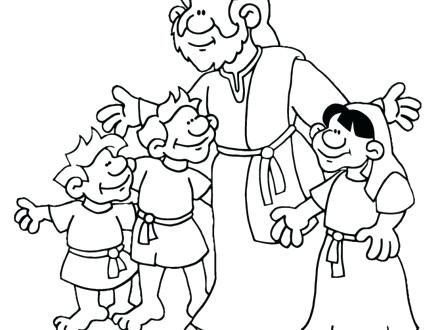 440x330 Preschool Sunday School Coloring Pages School Coloring Pages