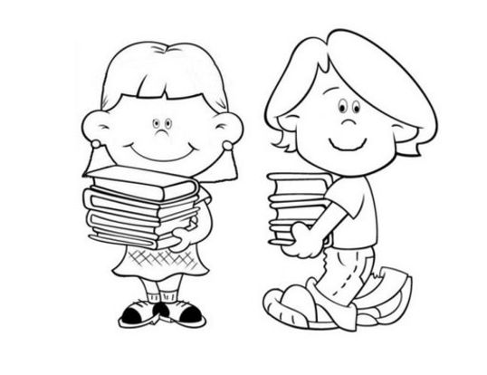 538x414 School Coloring Pages