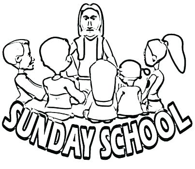 403x350 Unique Free Sunday School Coloring Pages For Kids And Free School