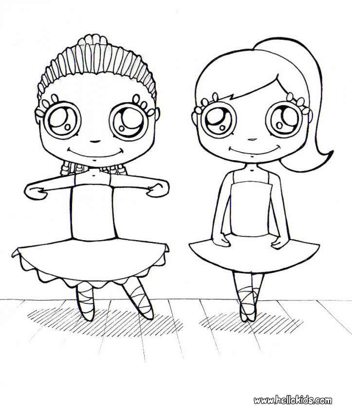723x850 Dancing Coloring Page