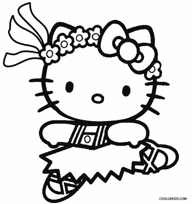 614x650 Printable Ballet Coloring Pages For Kids
