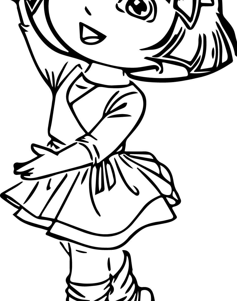 964x1224 Ballerina Coloring Pages For Childrens Books Coloring Page