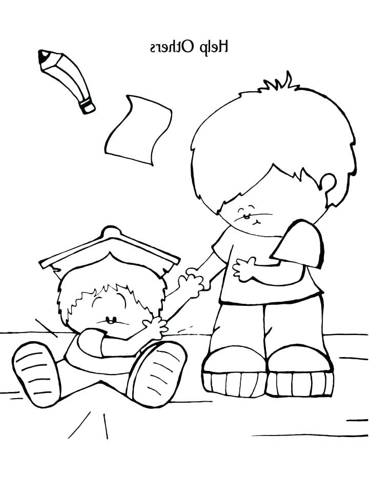 720x931 Helping Others Coloring Pages Coloring Pages For Kids