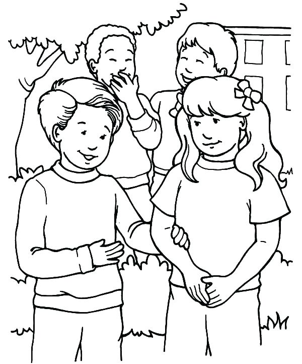 600x722 Helping Others Coloring Pages Serving Others Jesus Helping