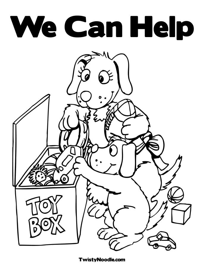 685x886 Kids Helping Each Other Coloring Page Az Coloring Pages Coloring