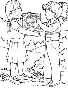 236x302 Of Kids Helping Others Free Coloring Pages On Art Coloring Pages