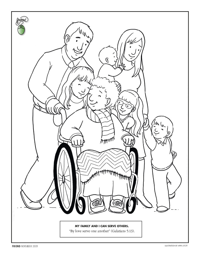 694x902 Serving Others Coloring Pages