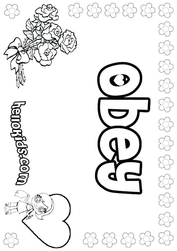 600x849 Children Obey Your Parents Coloring Page Child Obeying Parents