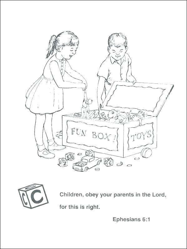 Obey Your Parents Clip Art