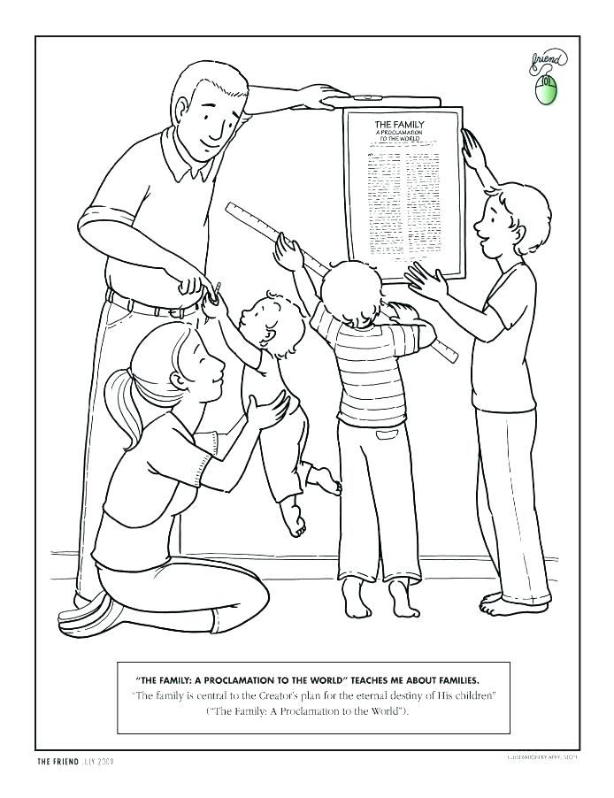 Children Obey Your Parents Coloring Page At Getdrawings Free Download