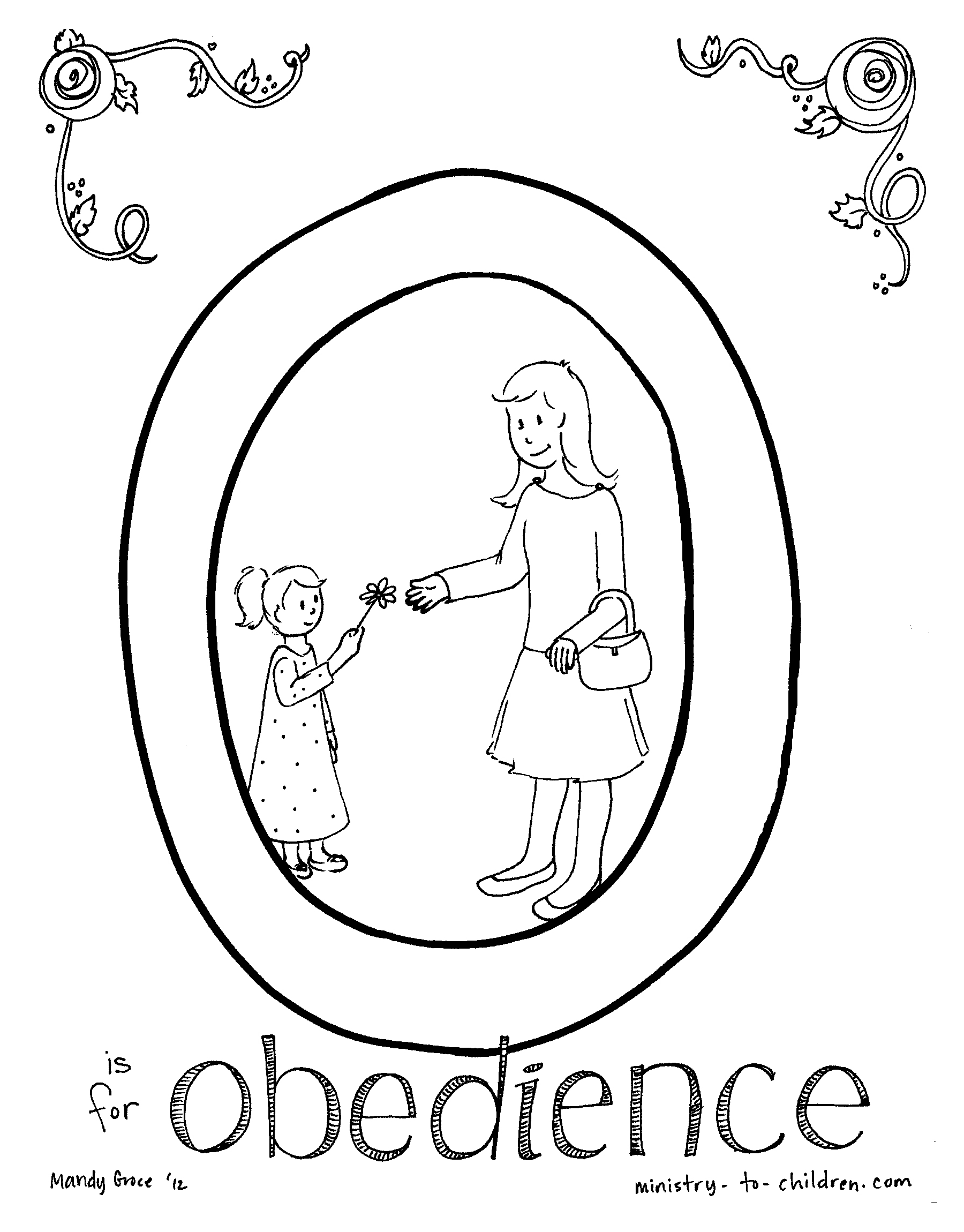 1800x2300 Obedience Coloring Pages For Children