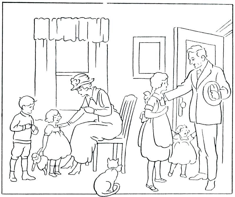 799x671 Parents Coloring Pages Parents Coloring Pages Parents Coloring