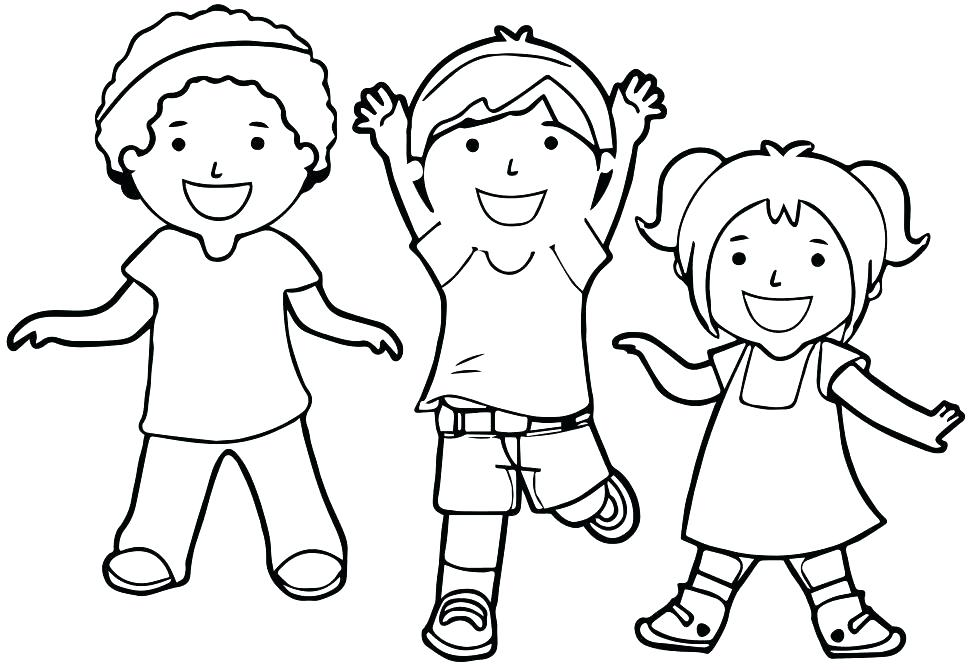 970x670 Children Coloring Pages Image Children Of The World Coloring Pages