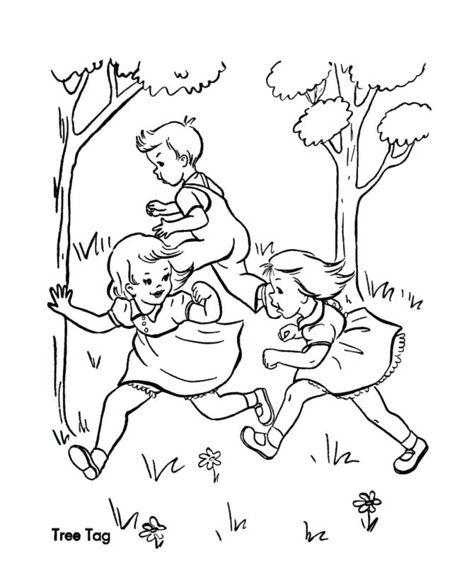 670x820 Coloring Pages For Kids Pdf Playing Of Children
