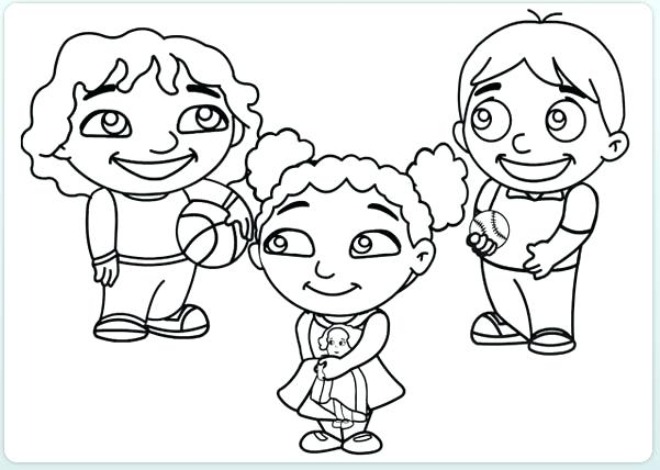 601x428 Coloring Pages Of Kids Coloring Page Kids Kid Pages Children Days