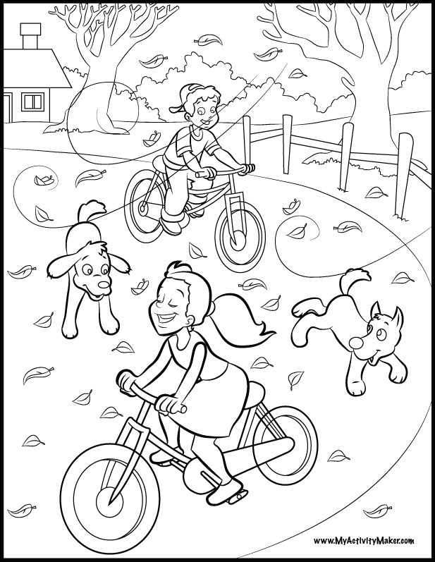 617x797 Park Coloring Pages For Preschool Beautiful Children Playing
