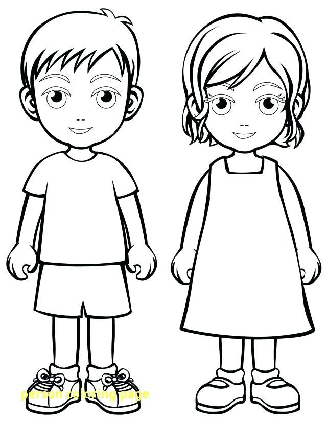 640x828 Person Coloring Page Person Coloring Page With Children Free