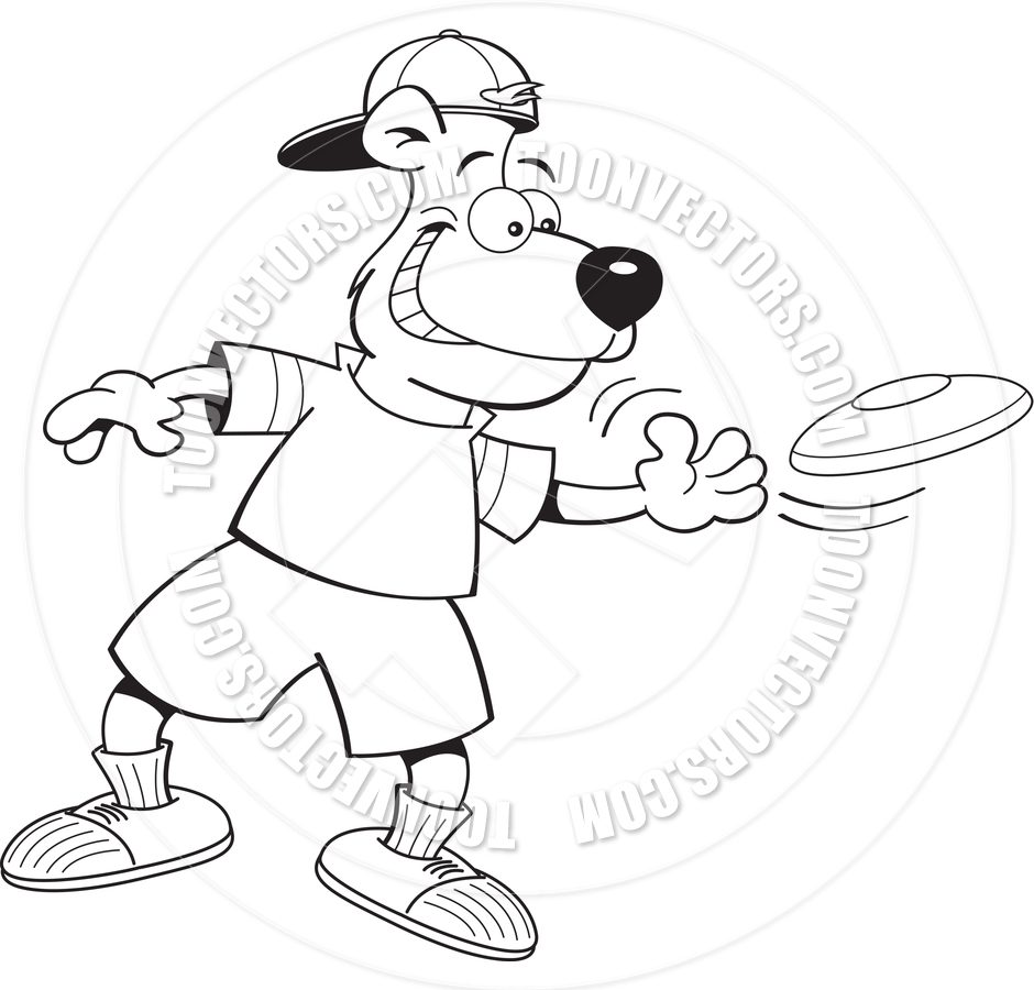 940x900 Boy Playing Frisbee Coloring Page Useful As Book Kids For Pages