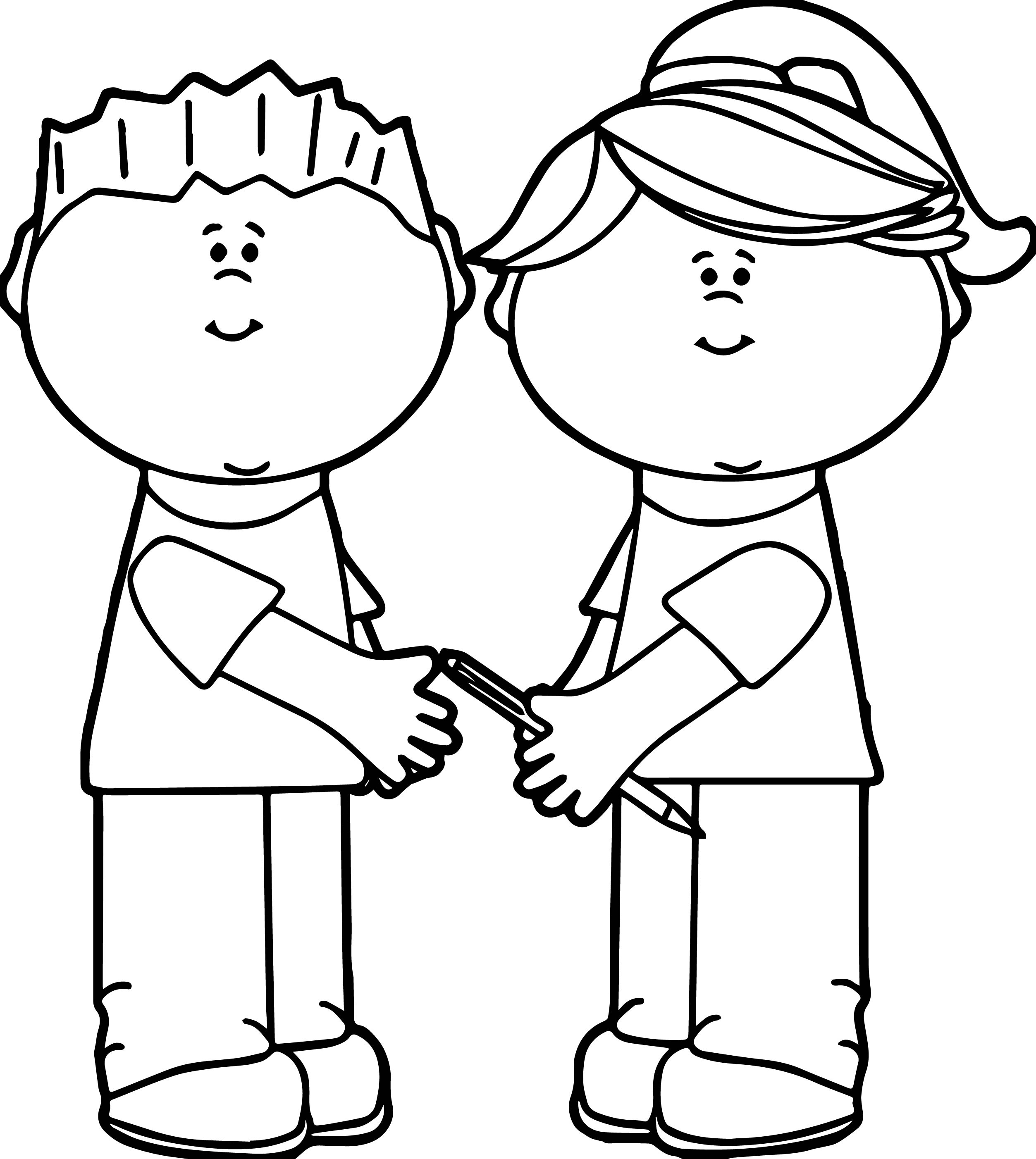 2506x2804 Kid Coloring Pages Lovely School Kids Sharing Kids Coloring Page