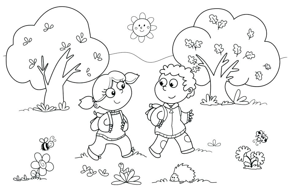 948x625 Sharing Coloring Pages Children Sharing Coloring Pages Page Free