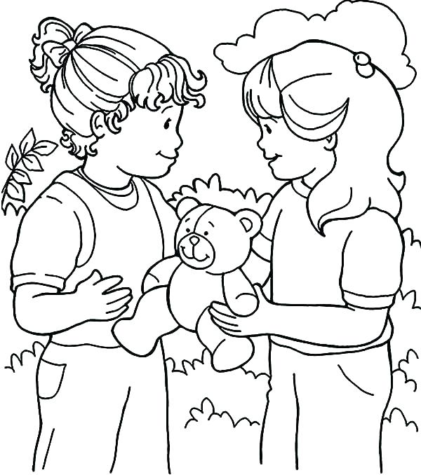 600x678 Sharing Coloring Pages Coloring Pages Coloring Pages Printable