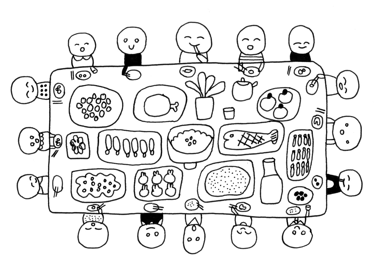 1200x898 Images Of People Sharing Coloring Page
