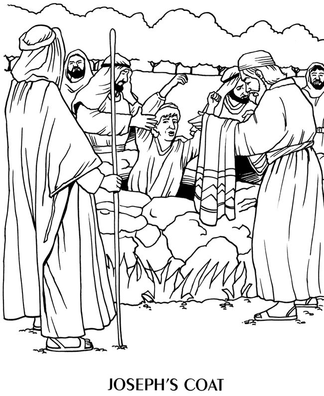 650x795 Best Children's Bible Story Coloring Pages Images