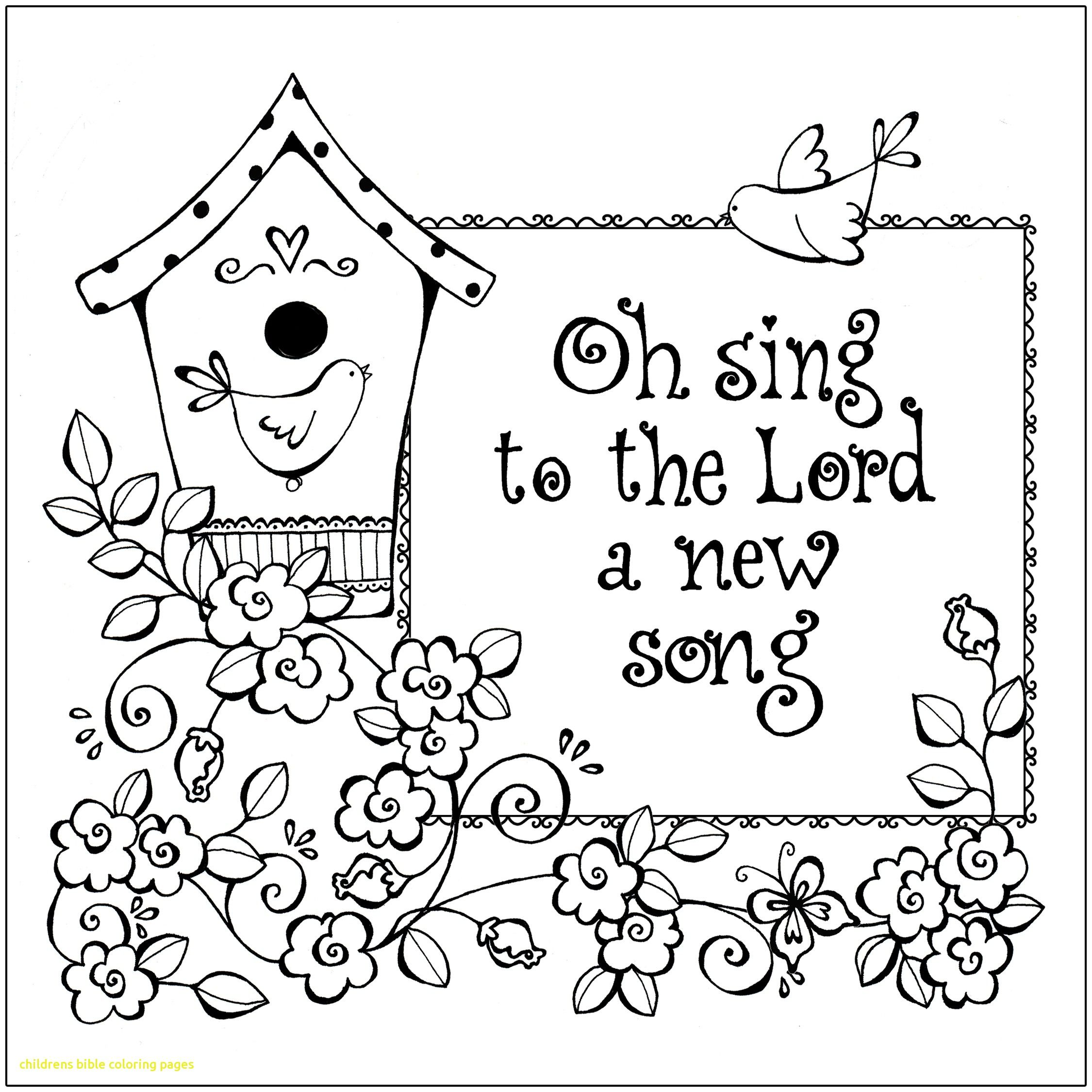 2250x2250 Childrens Bible Coloring Pages