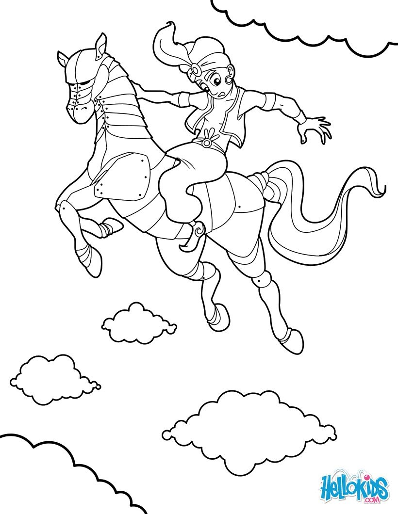 820x1060 Horse Coloring Pages