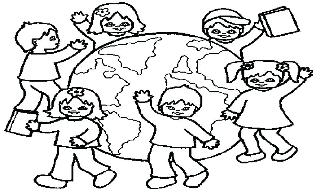 1024x614 Colouring Pages For Childrens Day Children Day Coloring Pages