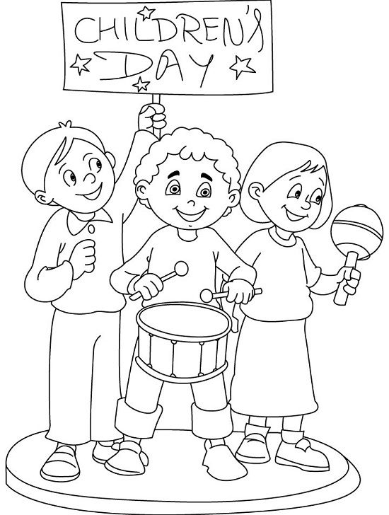 550x728 Top Children's Day Coloring Pages Yourddler Will Love