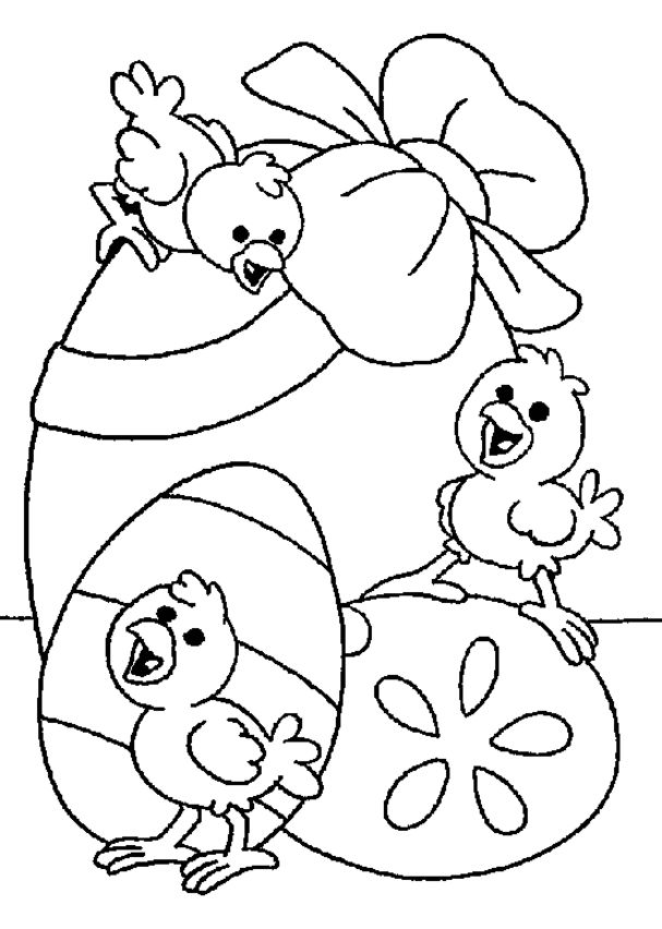 607x852 Easter Coloring Pages For Children Merry Christmas And Happy New