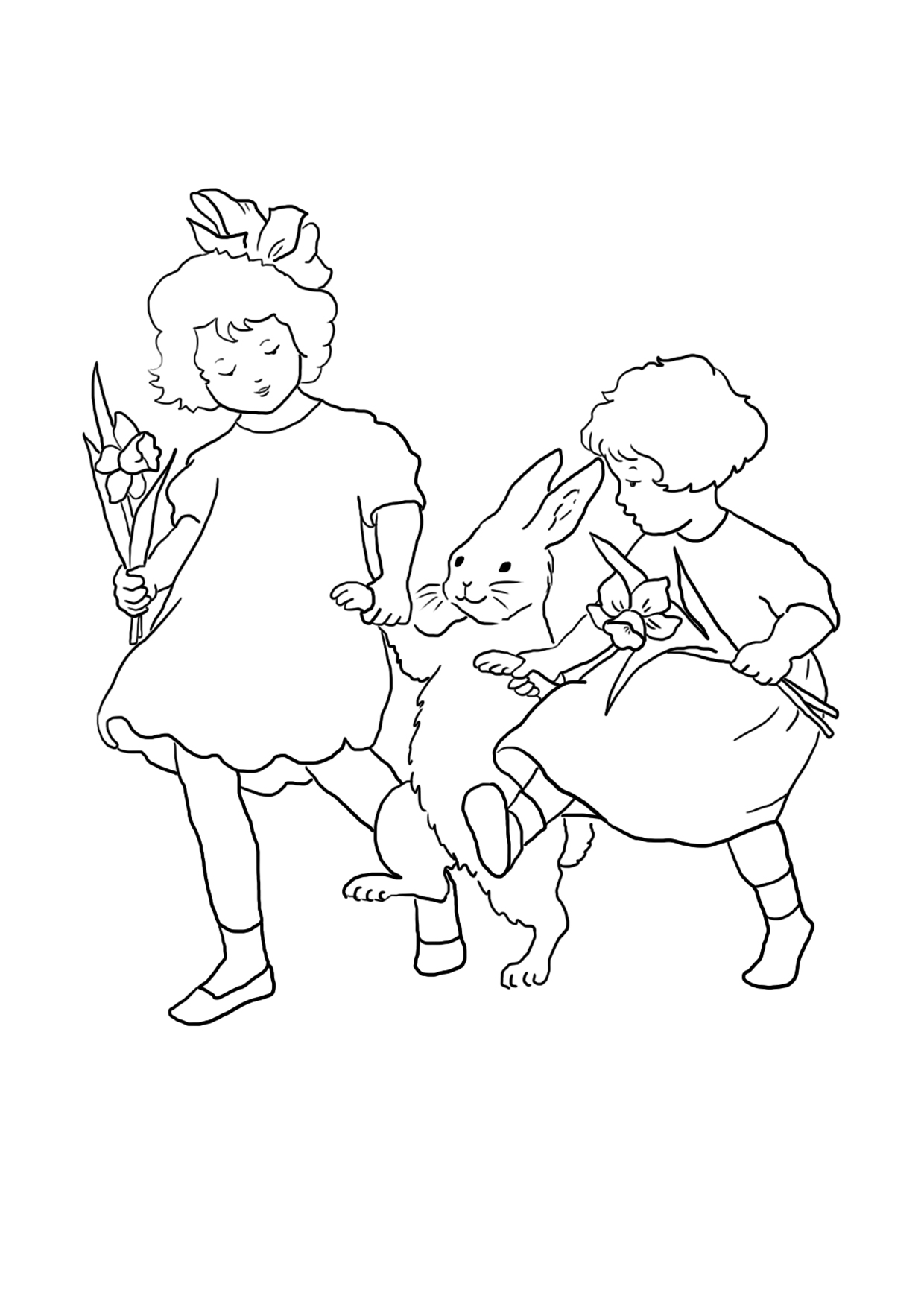 1240x1754 Easter Coloring Pages