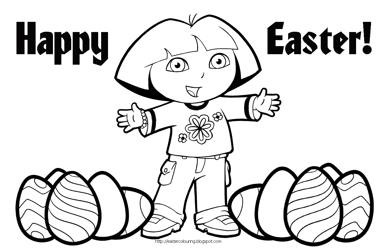 1270x835 Free Easter Coloring Pages The Sun Flower Pages