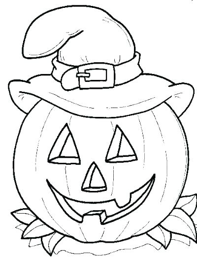 400x525 Preschool Halloween Coloring Pages Coloring Pages Pumpkin