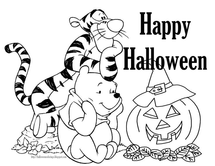 735x568 Childrens Halloween Coloring Pages Best Halloween Coloring