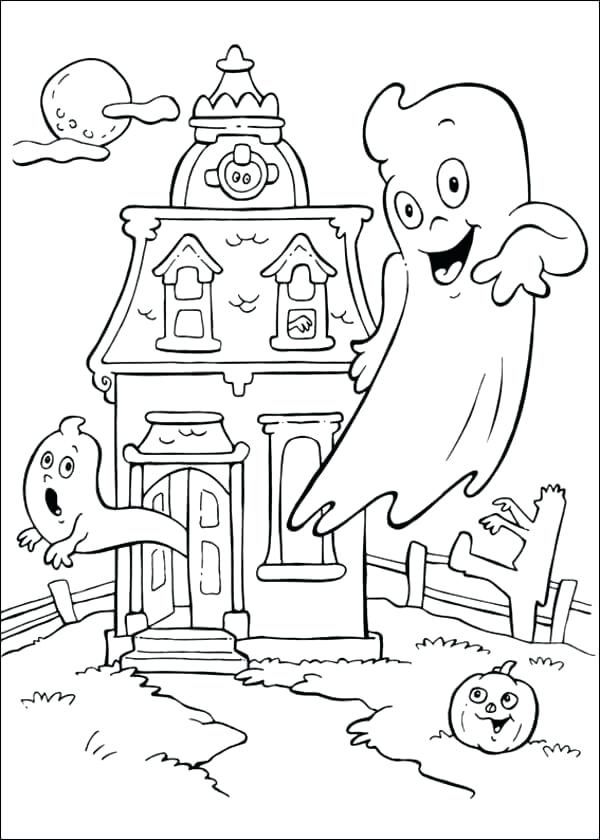 600x840 Halloween Coloring Book Pages