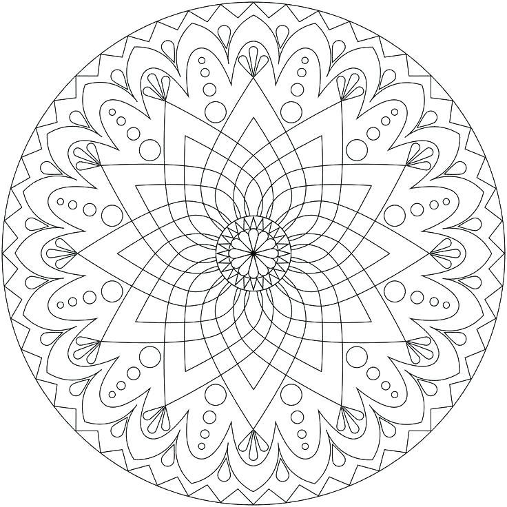 736x736 Kids Mandala Coloring Pages Cool Mandala Coloring Pages Abstract